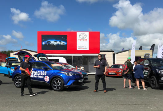 FRF Toyota at the Pembrokeshire County Show 2018